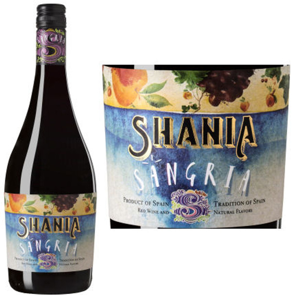 Shania Sangria Red Wine NV