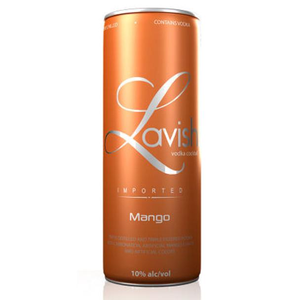 Lavish Mango Vodka Cocktail Can 355ml