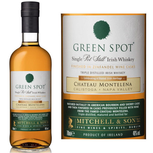 Green Spot Chateau Montelena Single Pot Still Irish Whiskey 750ml