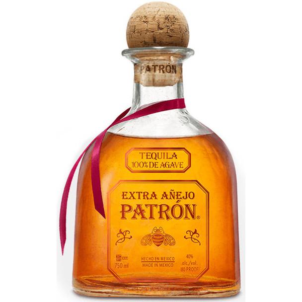 Patron Extra Anejo Tequila 750ml