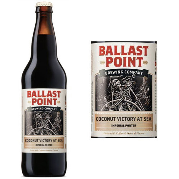 Ballast Point Coconut Victory At Sea Imperial Porter 22oz