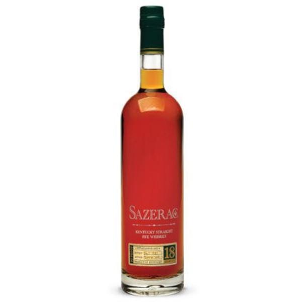 Sazerac 18 Year Old Kentucky Straight Rye Whiskey 750ml