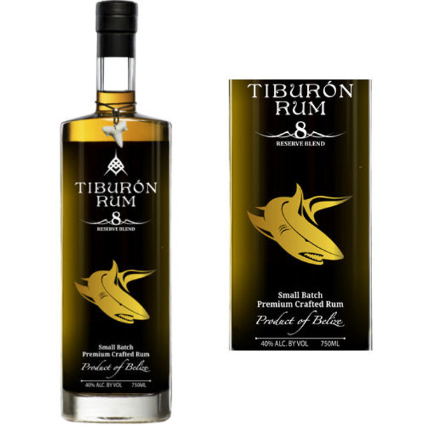 Tiburon Small Batch 8 Year Old Belize Rum 750ml