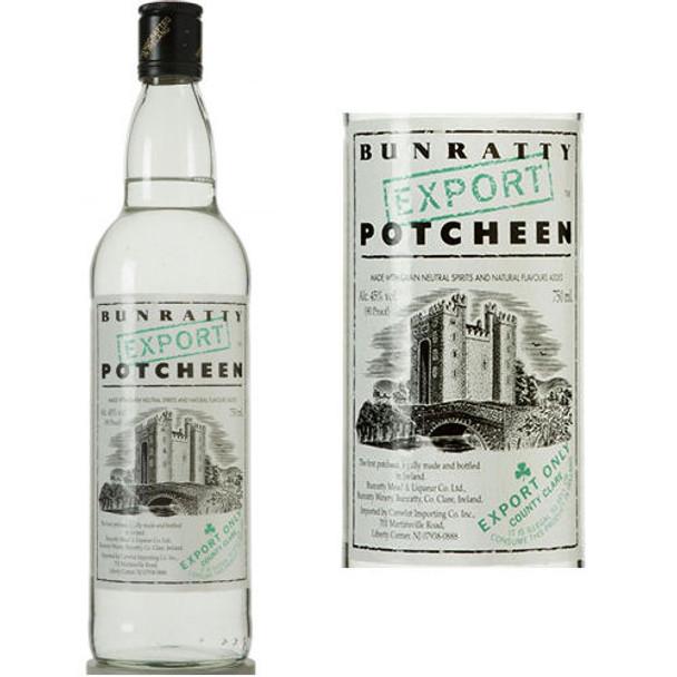 Bunratty Irish Potcheen 750ml