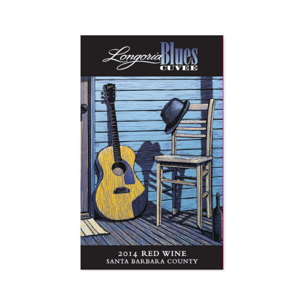Longoria Blues Cuvee Santa Barbara Red Blend