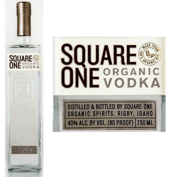 Square One Rye Organic Vodka 750ml855886001005