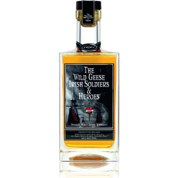The Wild Geese Single Malt Irish Whiskey 750ml