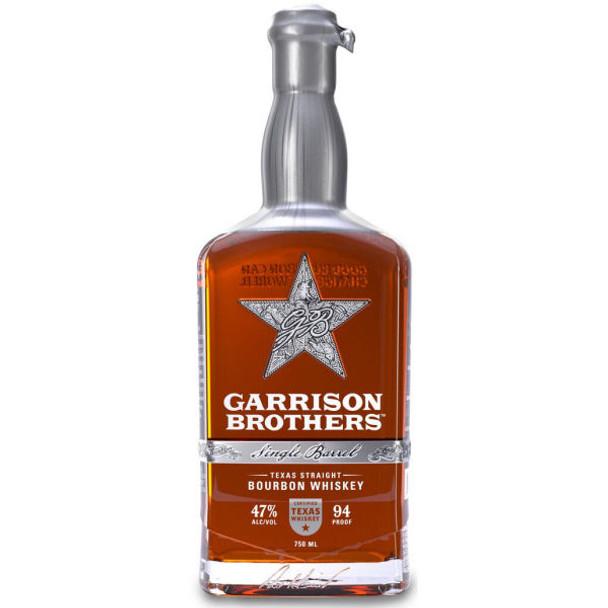 Garrison Brothers Single Barrel Texas Straight Bourbon Whiskey 750ml