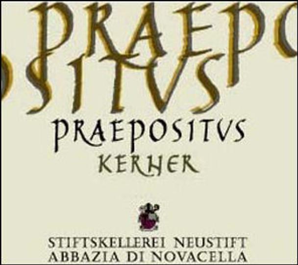 Abbazia di Novacella Praepositus Kerner Alto Adige