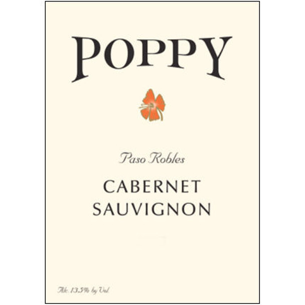 Poppy Paso Robles Cabernet