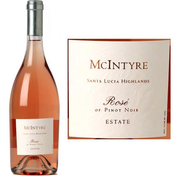 McIntyre Santa Lucia Highlands Rose of Pinot Noir