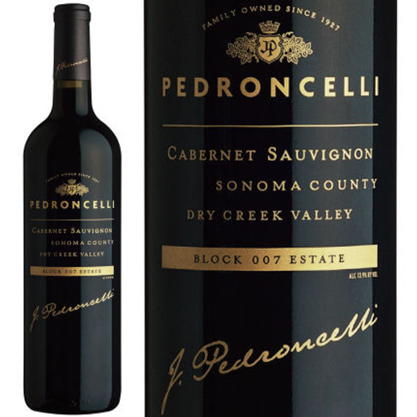 Pedroncelli Block 007 Vineyard Dry Creek Cabernet