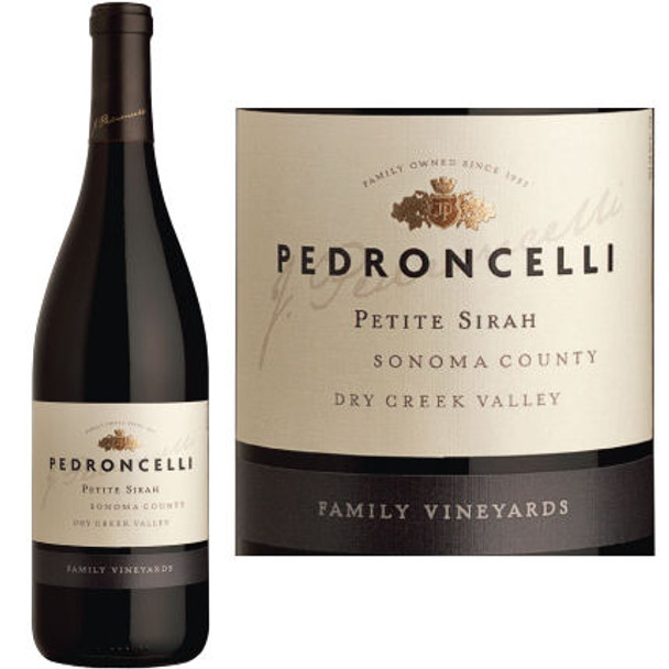 Pedroncelli Family Vineyards Dry Creek Petite Sirah