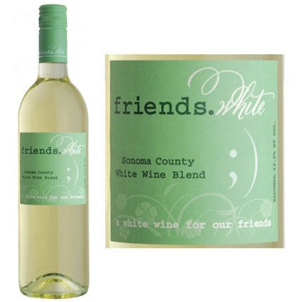 Pedroncelli Friends Sonoma White Wine 2017