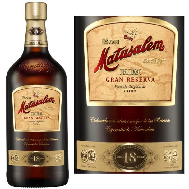 Ron Matusalem Gran Reserva 18 Year Old Rum 750ml
