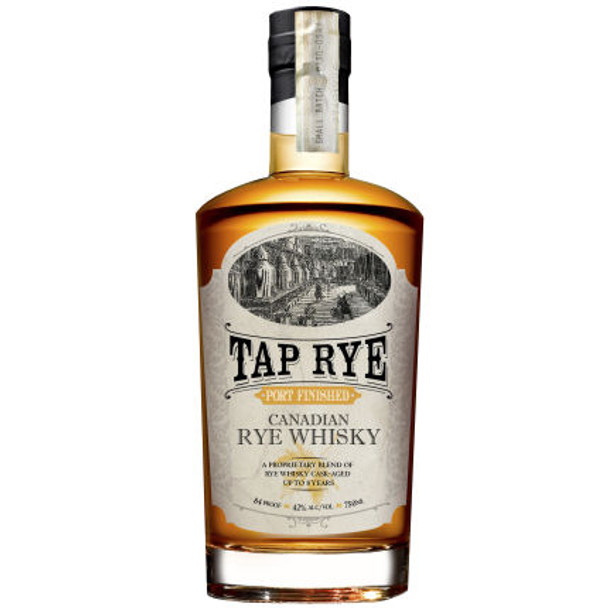 Tap Rye Port Finished Rye Canadian Whisky 750ml