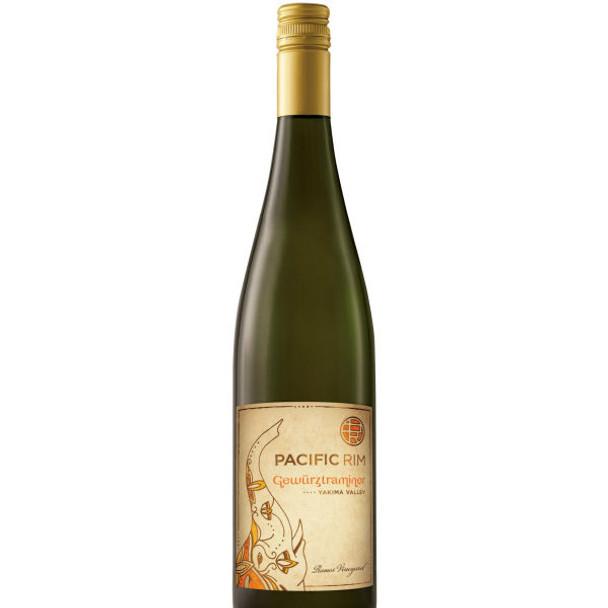 Pacific Rim Twin Vineyards Yakima Valley Gewurztaminer Washington