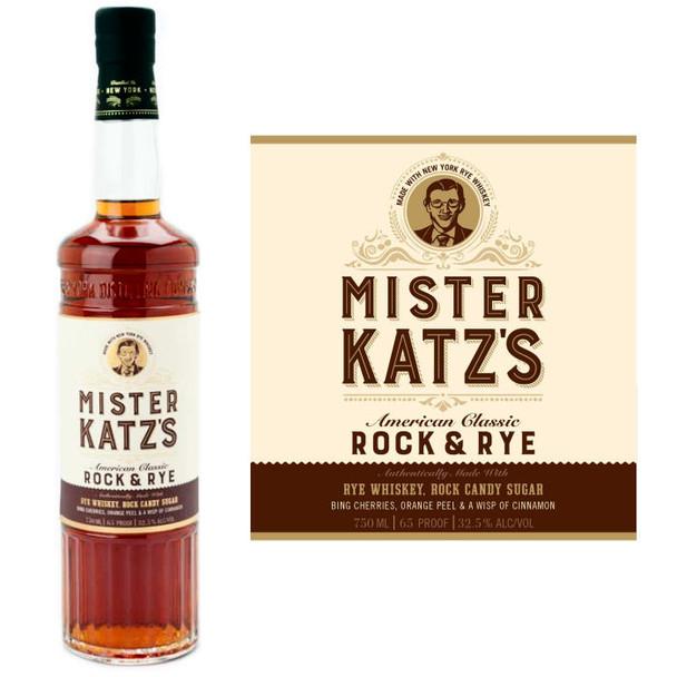 Mister Katz's Rock and Rye Whiskey 750ml