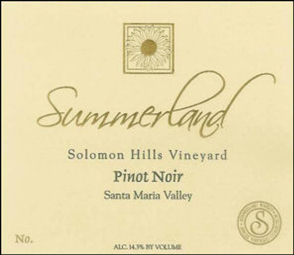 Summerland Solomon Hills Pinot Noir