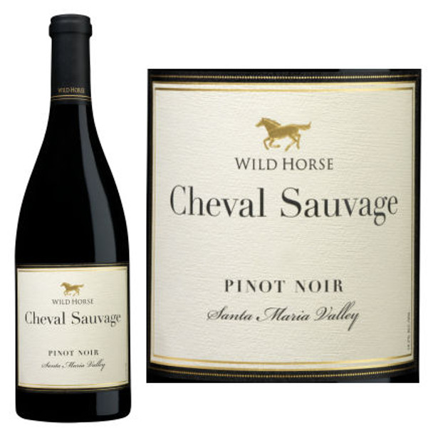 Wild Horse Cheval Sauvage Santa Maria Pinot Noir
