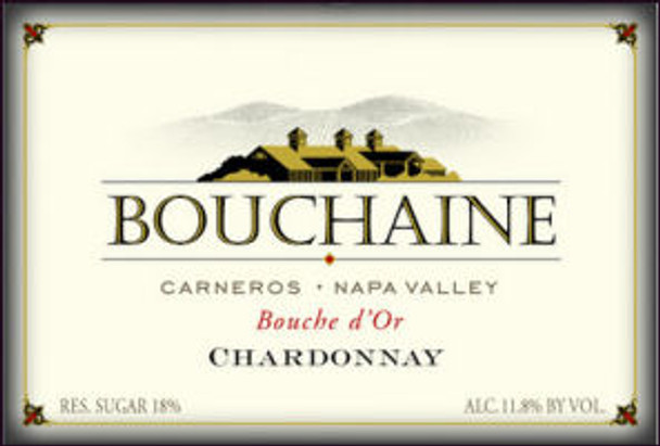 Bouchaine Bouche d'Or Late Harvest Chardonnay