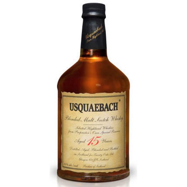 Usquaebach 15 Year Old Highland Blended Malt Scotch Whisky 750ml