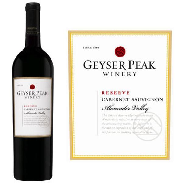 Geyser Peak Reserve Alexander Cabernet