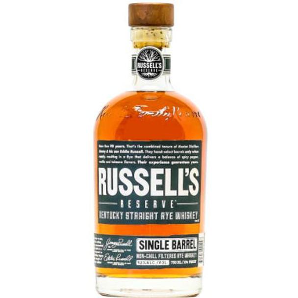 Russell's Reserve Single Barrel Kentucky Straight Rye Whiskey 750ml