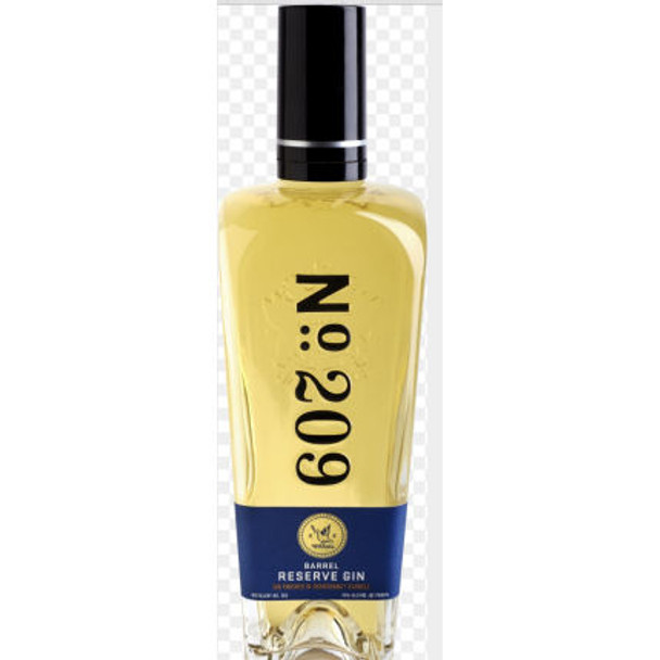 No. 209 Chardonnay Barrel Reserve Gin 750ml