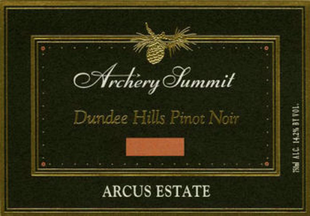Archery Summit Arcus Estate Pinot Noir Oregon