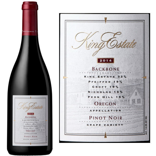 King Estate Backbone Oregon Pinot Noir