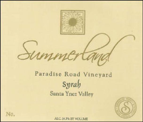 Summerland Paradise Road Syrah