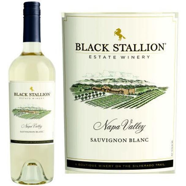 12 Bottle Case Black Stallion Napa Sauvignon Blanc 2017 Rated 91WE EDITORS CHOICE w/ Free Shipping