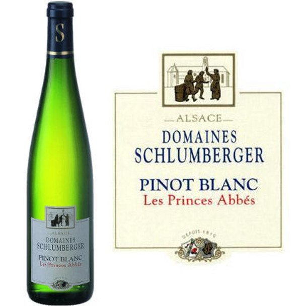 Domaines Schlumberger Alsace Pinot Blanc Les Princes Abbes