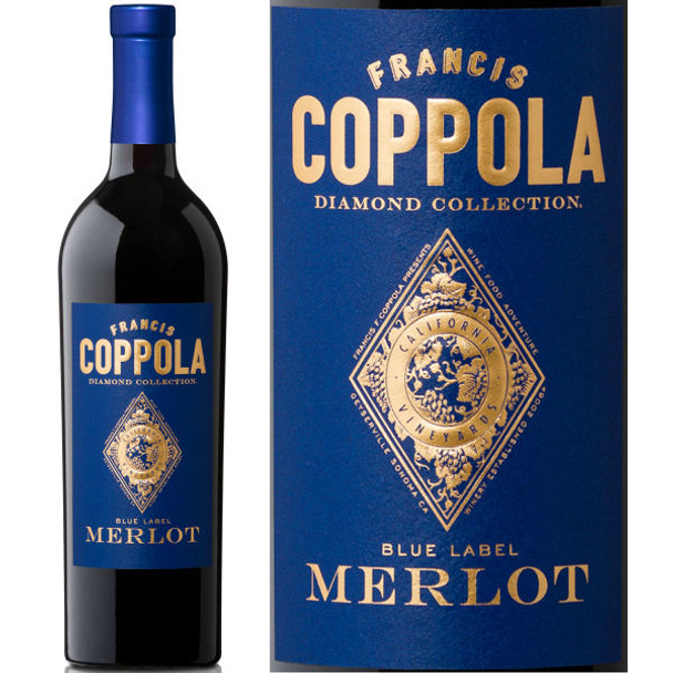 Francis Coppola Diamond Series Blue Label Merlot
