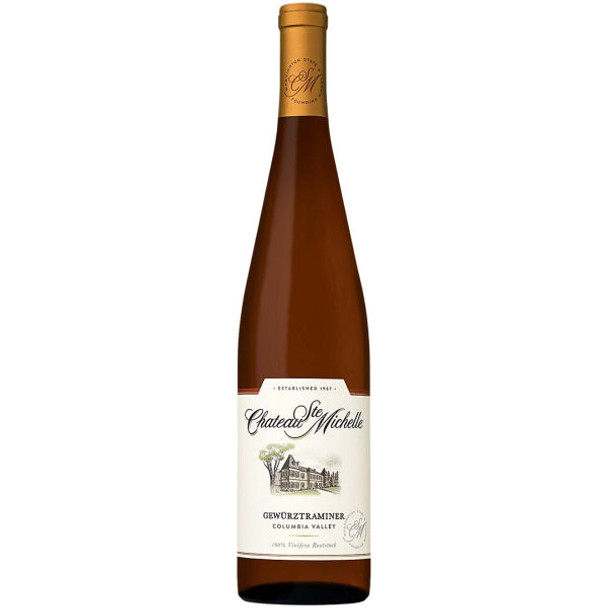 Chateau Ste. Michelle Columbia Washington Gewurztraminer