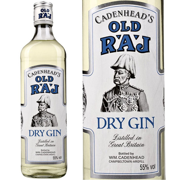 Cadenhead's Old Raj Dry Gin Blue Label 750ml