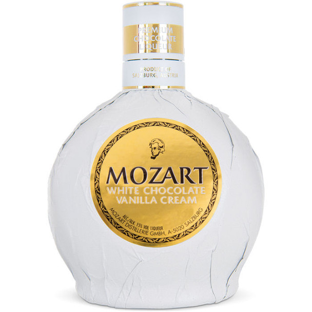Mozart White Chocolate Vanilla Cream Liqueur 750ml