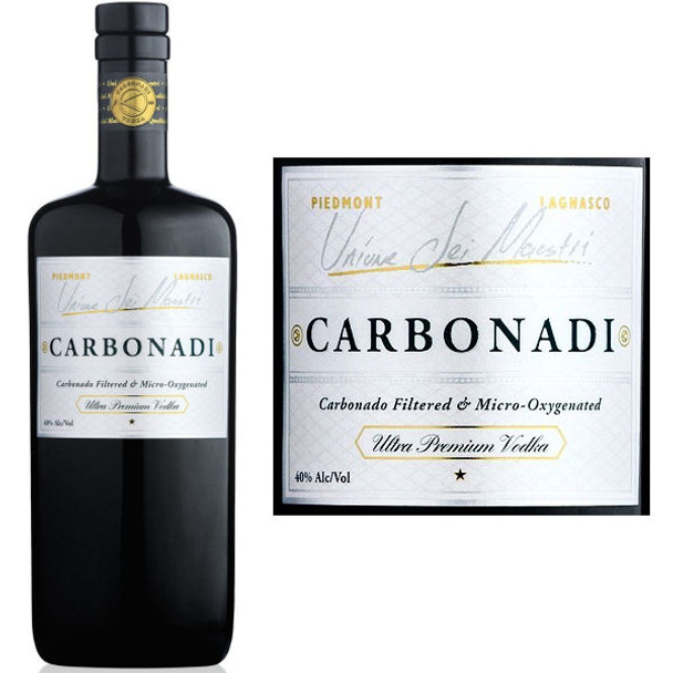 Carbonadi Ultra Premium Italian Vodka 750ml
