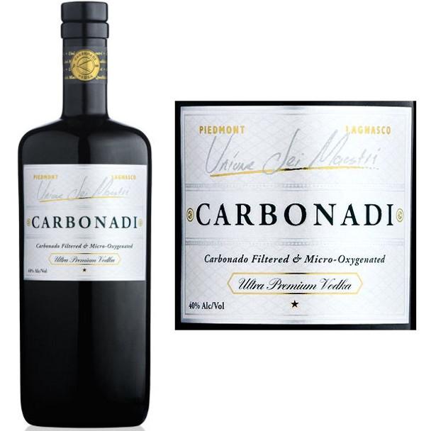 Carbonadi Ultra Premium Italian Vodka 750ml