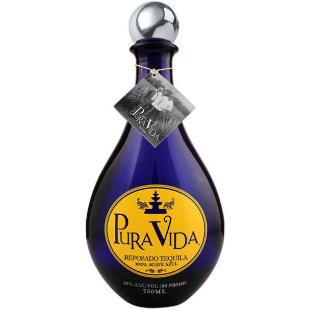 Pura Vida Reposado Tequila 750ml