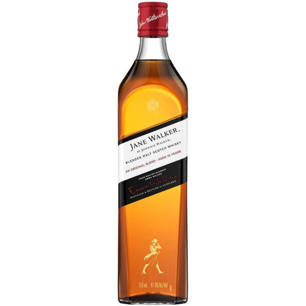 Jane Walker by Johnnie Walker 10 Year Old Blended Malt Scotch Whisky 750ml