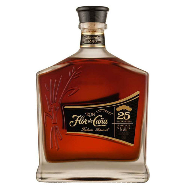 Flor de Cana 25 Year Old Single Estate Rum 750ml