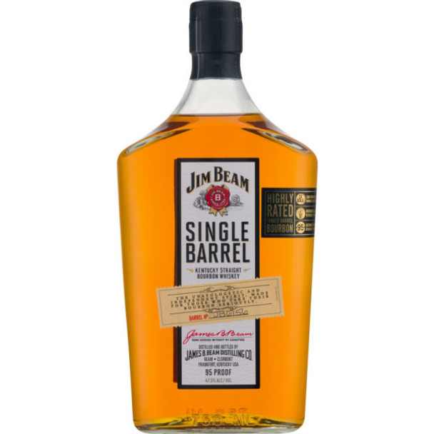Jim Beam Single Barrel Bourbon Whiskey 750ml