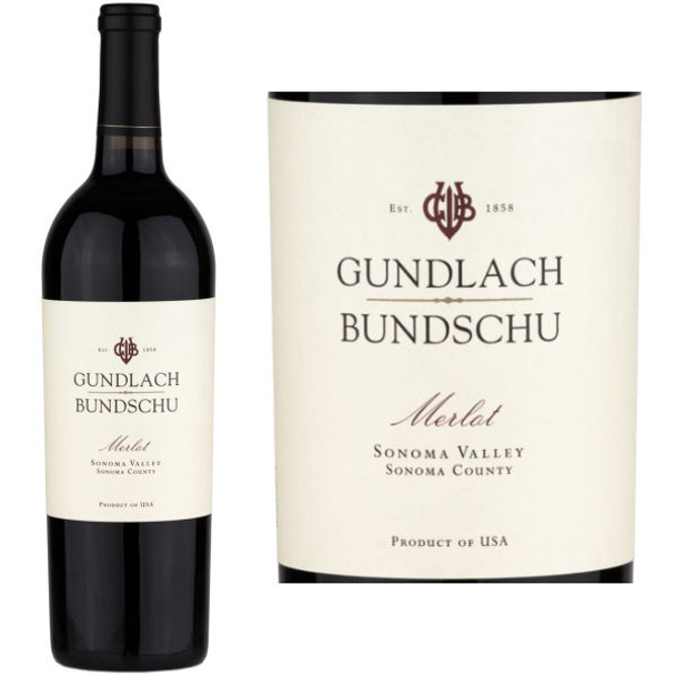 Gundlach Bundschu Sonoma Merlot