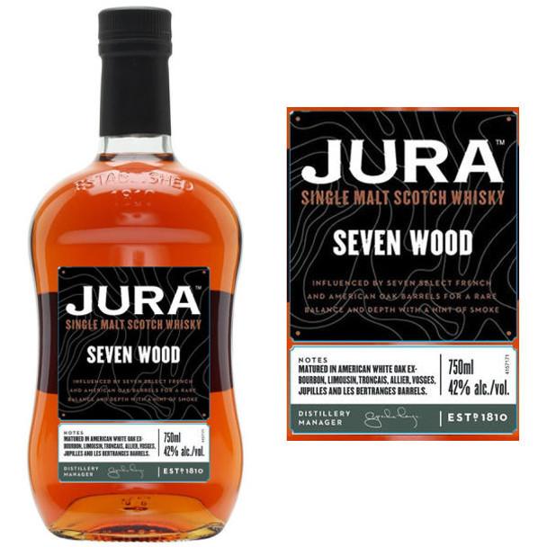 Jura Seven Wood Single Malt Scotch 750ml