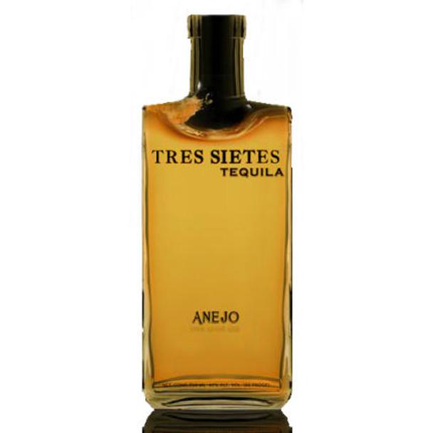 Tres Sietes Anejo Tequila 750ml