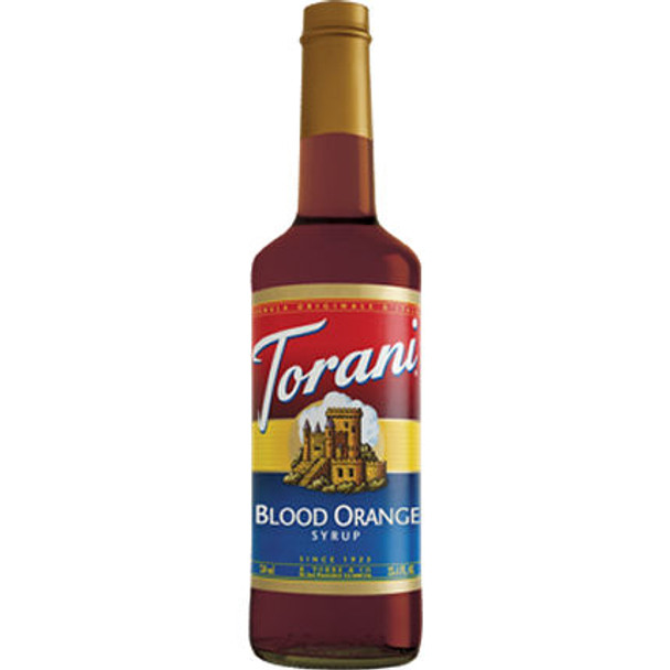 Torani Blood Orange Syrup 750ml
