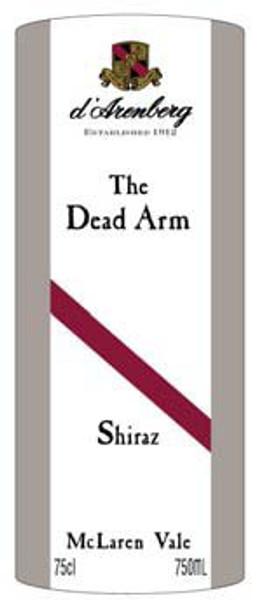 d'Arenberg McLaren Vale Dead Arm Shiraz