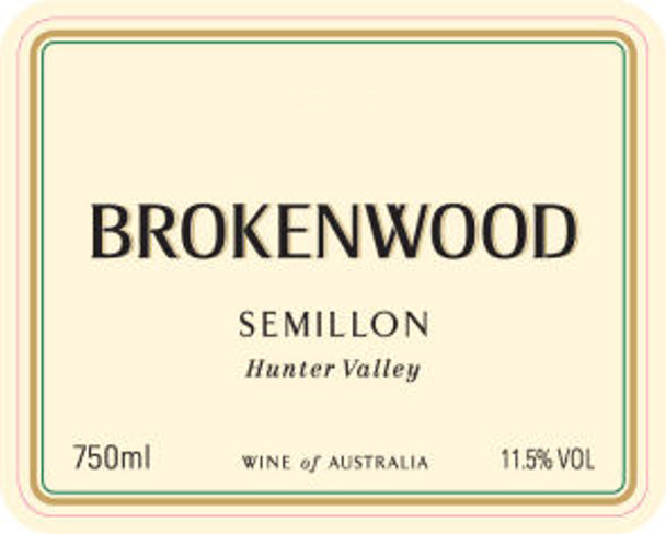 Brokenwood Hunter Valley Semillon